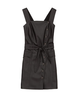 Sukienka ze skóry wegańskiej Charo