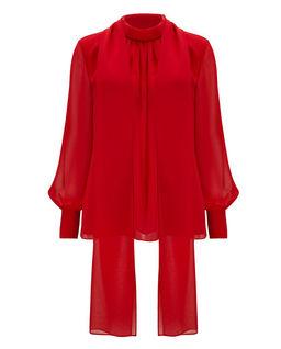 Czerwona bluzka Fargi