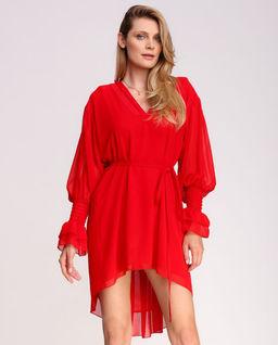 Czerwona sukienka mini Kenai
