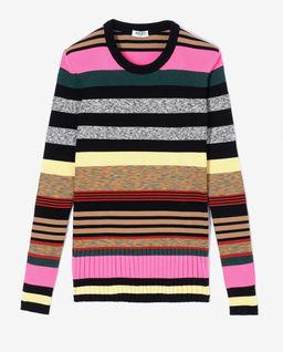Pruhovaný svetr