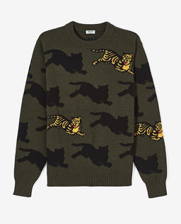 Sweter Jumping Tiger