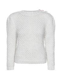 Ażurowy sweter Rosie