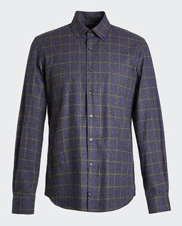 Flanelowa koszula w kratę