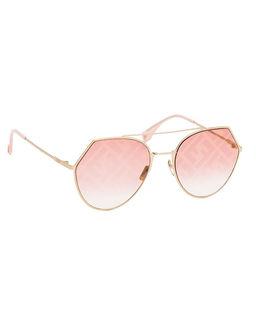 Różowe okulary przeciwsłoneczne