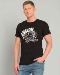 Czarny t-shirt Avalon