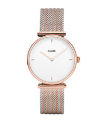 Zegarek Triomphe Rose Gold White/ Bicolour