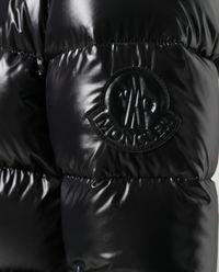 Czarna kurtka puchowa Rhin