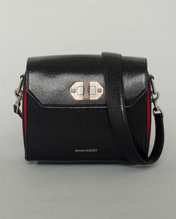 Černá, kožená kabelka