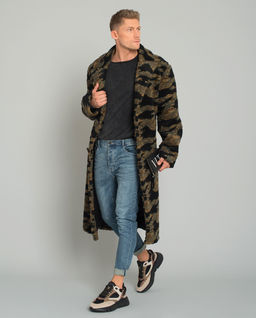 Płaszcz oversize Teddy Moro