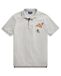 Szara koszula polo