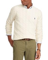Beżowy sweter z wełny
