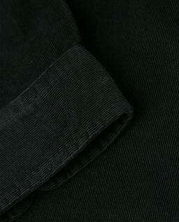 Czarna koszula ze sztruksu