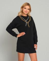 Sukienka dresowa Felpa di Cotone