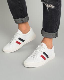 Białe sneakersy New Monaco