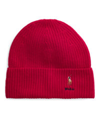 Červená vlněná čepice