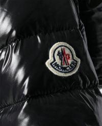 Czarna kurtka puchowa Authie