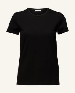 Czarny t-shirt z naszywką