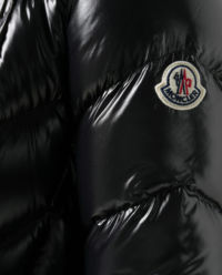 Czarna kurtka puchowa Fulig