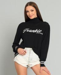 Bavlněný svetr s rolákem