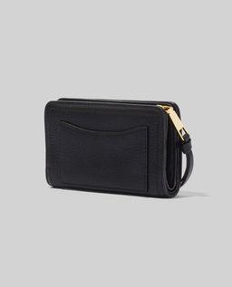 Czarny portfel Softshot Compact