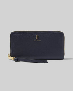 Tmavomodrá peněženka Softshot Continental