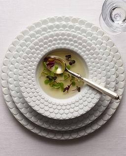 Talerz obiadowy z porcelany Aegean