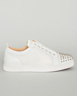 Białe sneakersy Ac Louis Junior