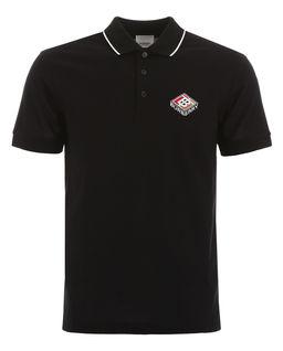 Czarna koszulka polo