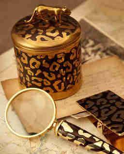 Świeca zapachowa leopard