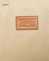 Beżowe spodnie z bawełny