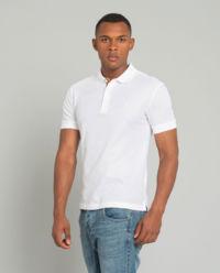 Biała koszulka z monogramem