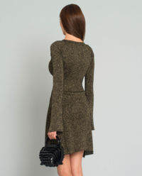 Rozkloszowana sukienka Tentoni
