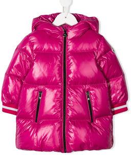 Różowy płaszcz puchowy 0-3 lat