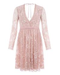 Różowa sukienka Eleanor