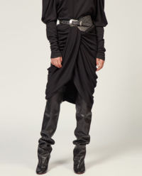 Czarna spódnica Datisca