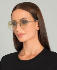 Żółte okulary przeciwsłoneczne