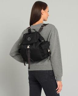 Czarny plecak Dauphine