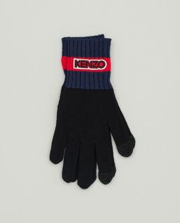 Wielokolorowe rękawiczki z logo