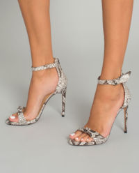 Sandały na szpilce Clarita