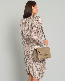 Sukienka w geometryczny wzór