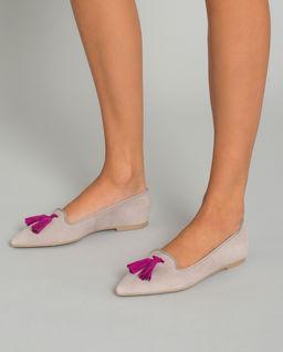 Loafery z chwostami