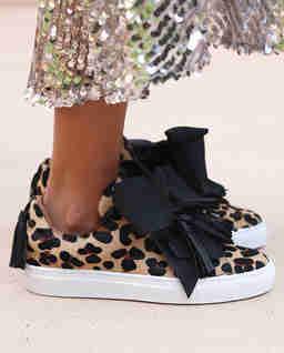 Sneakersy w cętki