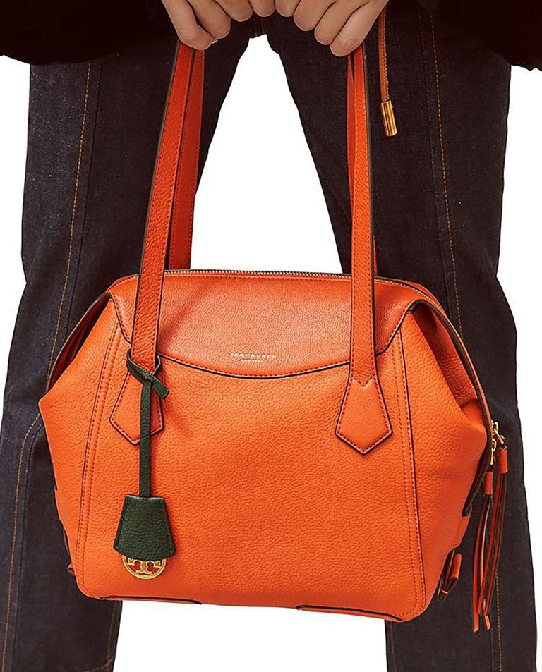 Pomarańczowa torba Perry