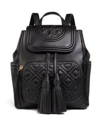 Czarny plecak Fleming