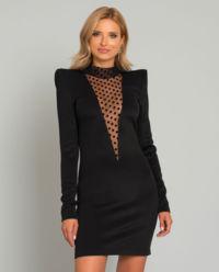 Czarna mini sukienka