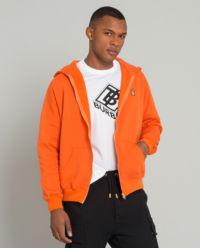 Pomarańczowa bluza z kapturem