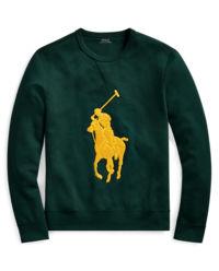 Zielona bluza z logo