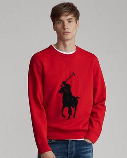 Czerwona bluza z logo