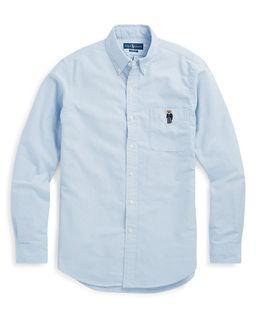 Niebieska koszula z misiem