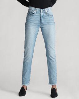Spodnie jeansowe High-Rise Slim